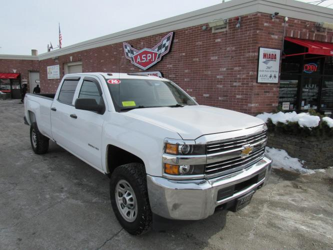 2016 Chevrolet Silverado 2500HD RARE LONG BED Crew Cab 4WD